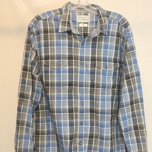 Lucky Brand Men's Large  Shirt Lot of 2 Plaid